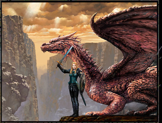 XADEL and her DRAGON