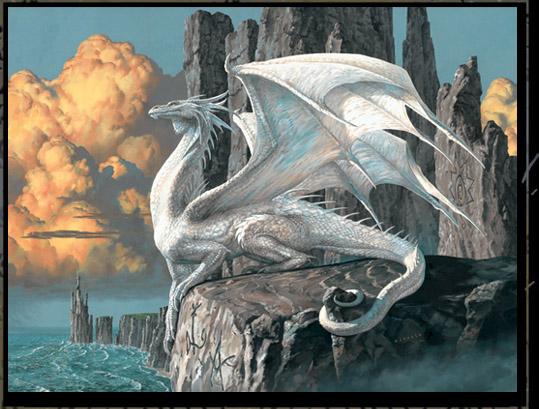 Pinturas de Dragones (Arte de Ciruelo)